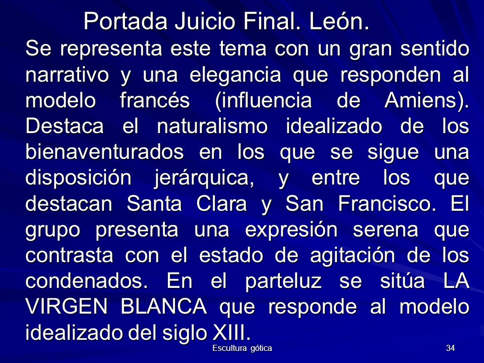 Portada Juicio Final. León.