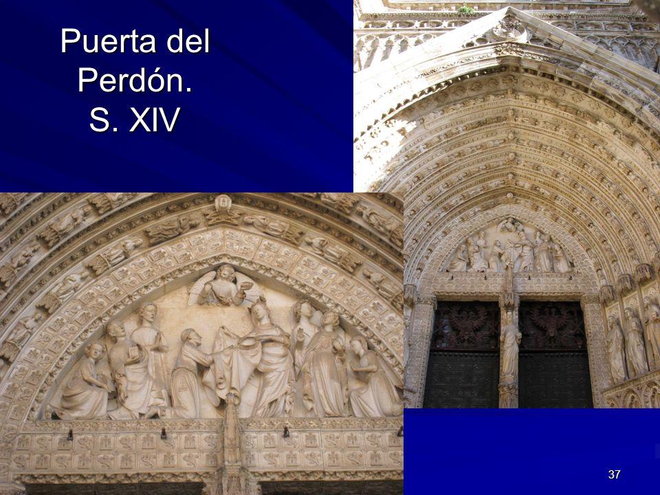Puerta del Perdón. S. XIV Escultura gótica
