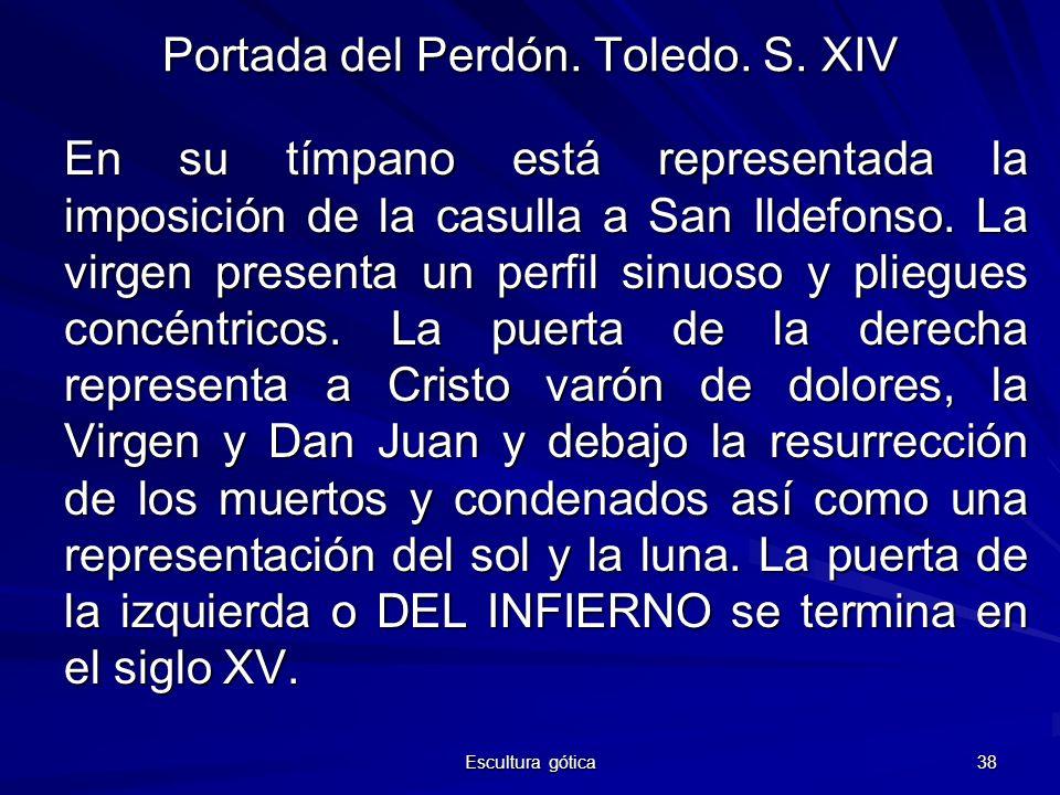 Portada del Perdón. Toledo. S. XIV