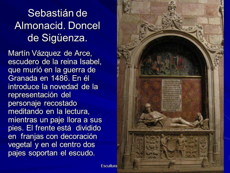 Sebastián de Almonacid. Doncel de Sigüenza.