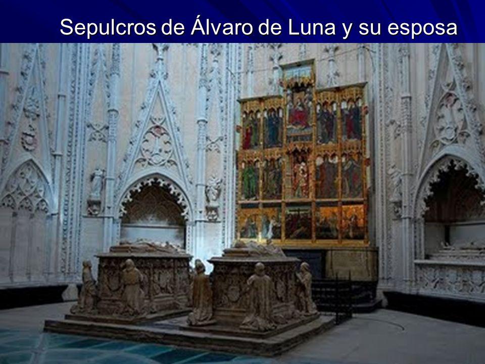 Sepulcros de Álvaro de Luna y su esposa