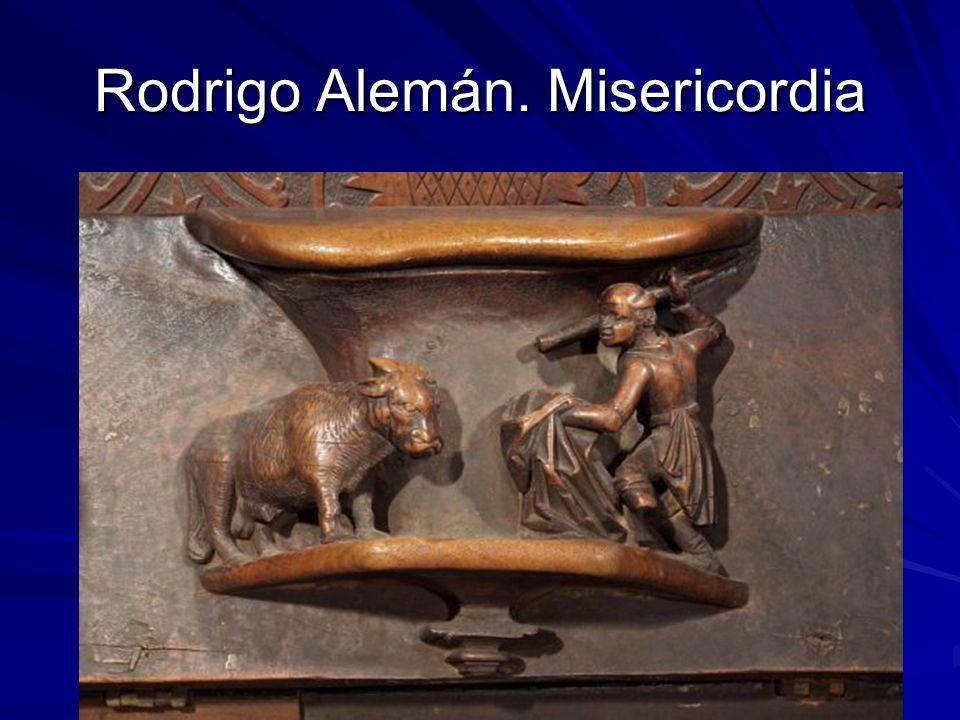 Rodrigo Alemán. Misericordia