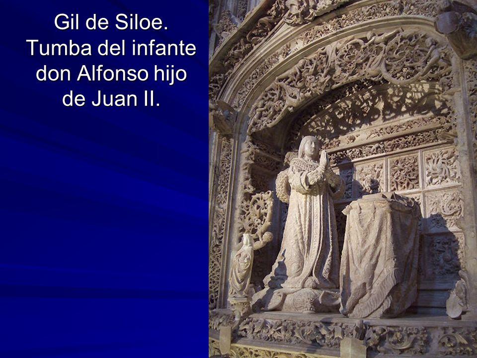 Gil de Siloe. Tumba del infante don Alfonso hijo de Juan II.