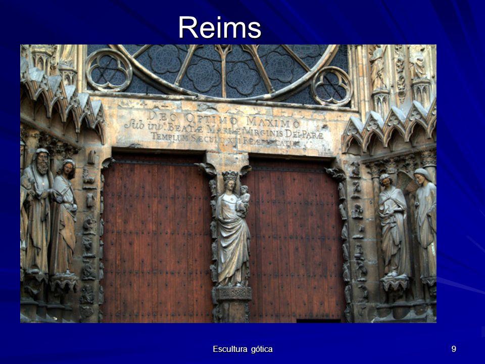 Reims Escultura gótica
