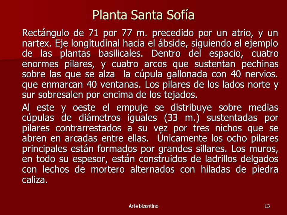 Planta Santa Sofía
