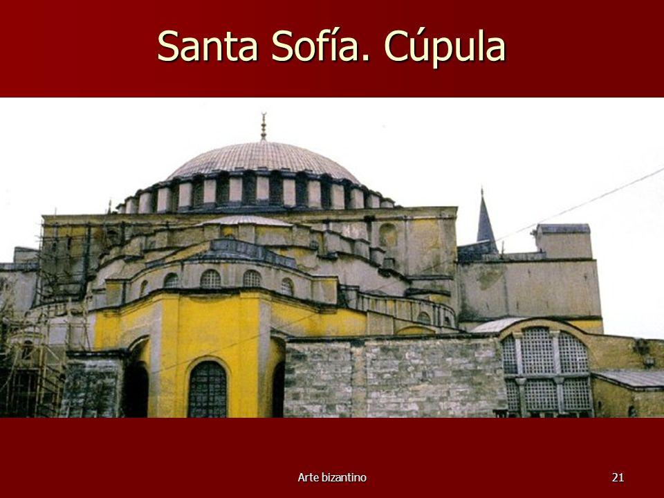 Santa Sofía. Cúpula Arte bizantino