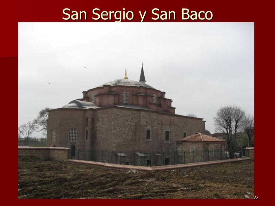 San Sergio y San Baco Arte bizantino