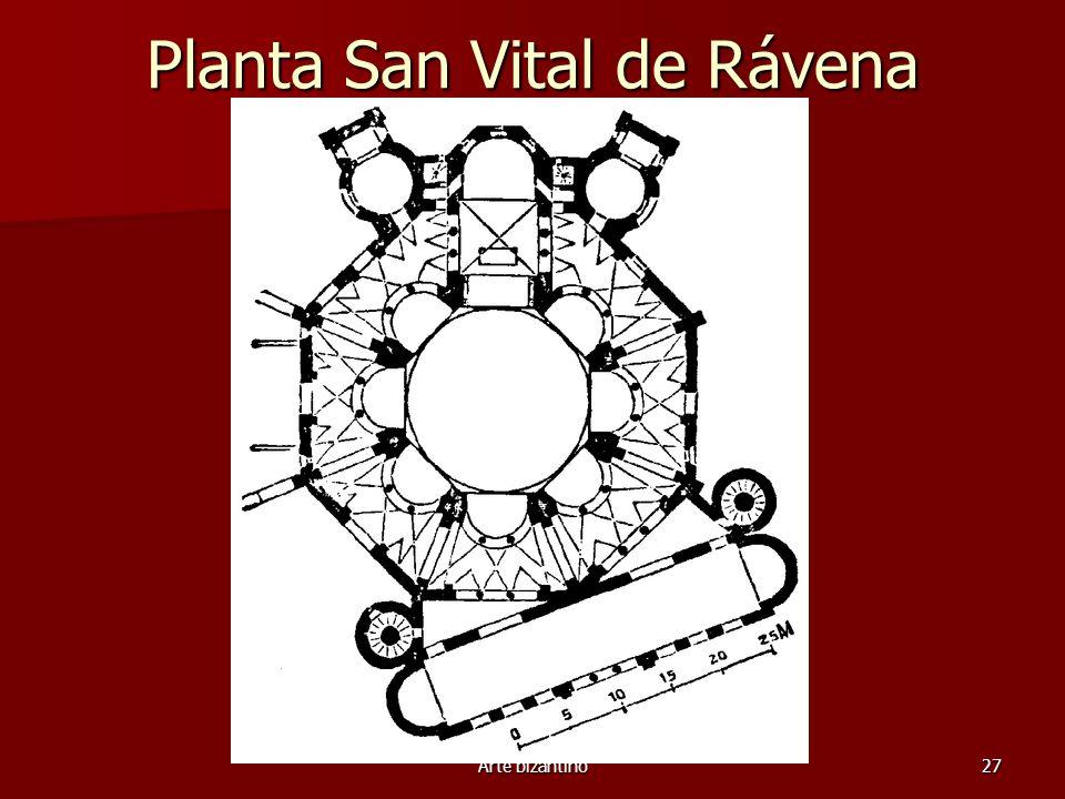 Planta San Vital de Rávena