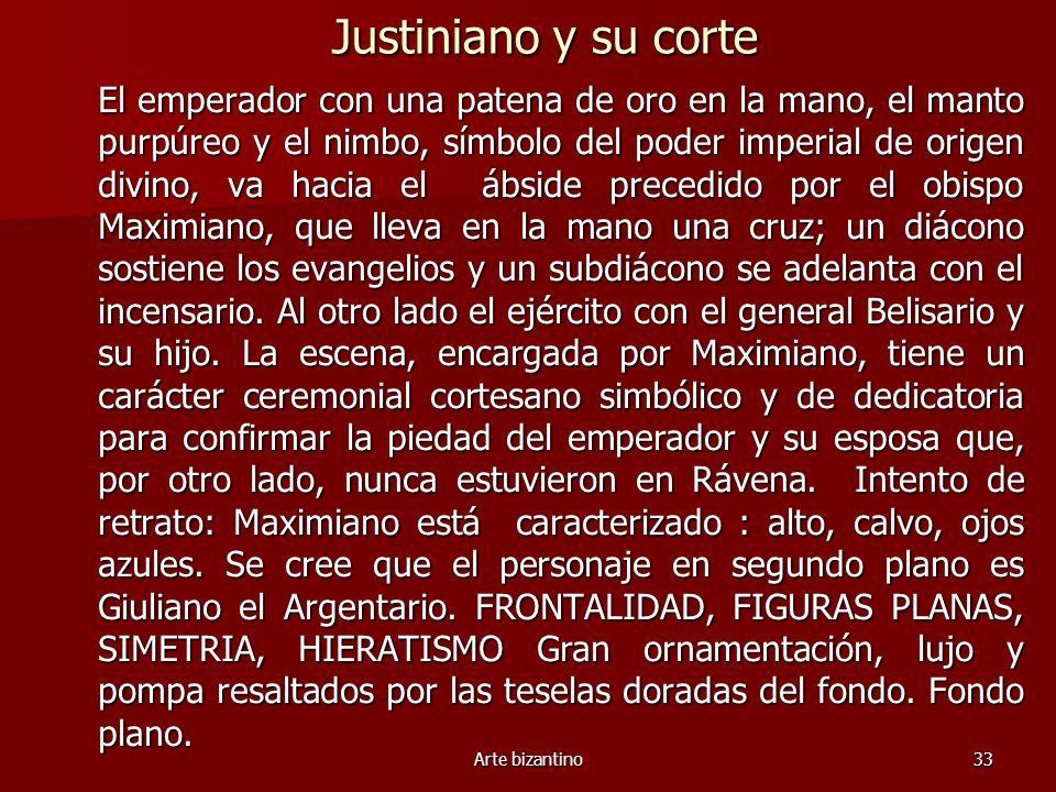 Justiniano y su corte