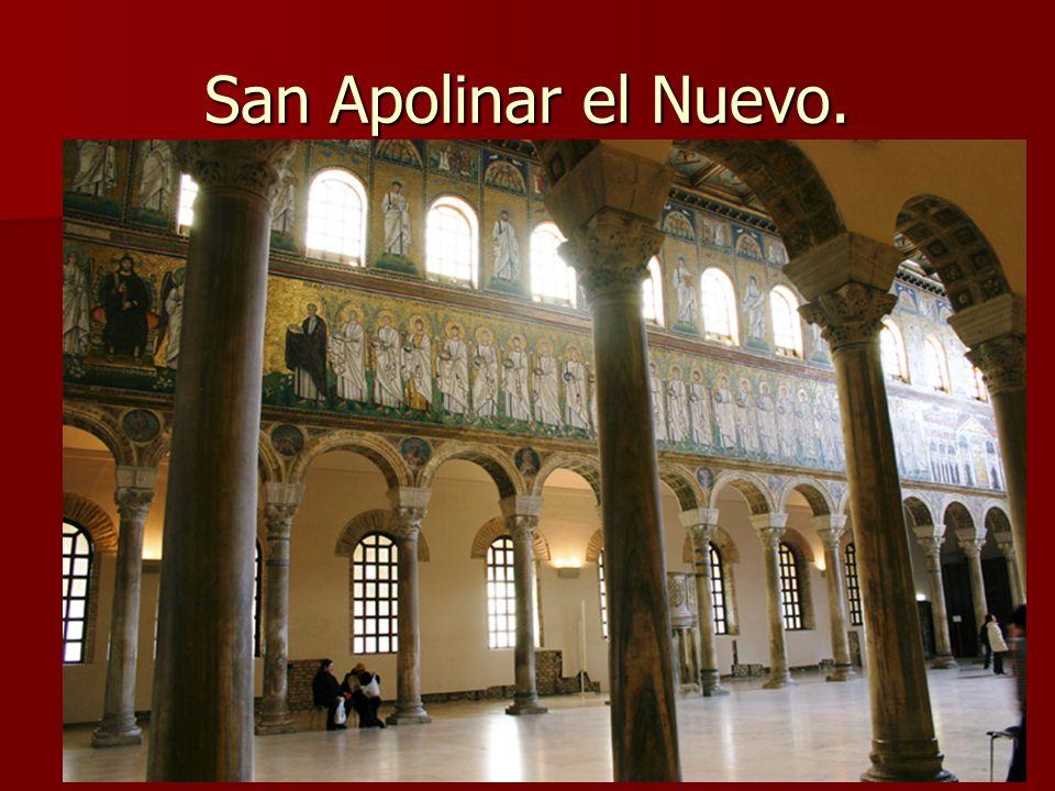 San Apolinar el Nuevo. Arte bizantino