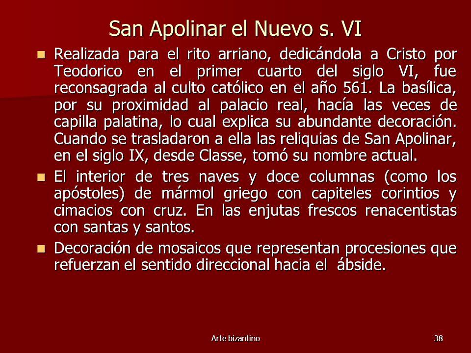 San Apolinar el Nuevo s. VI