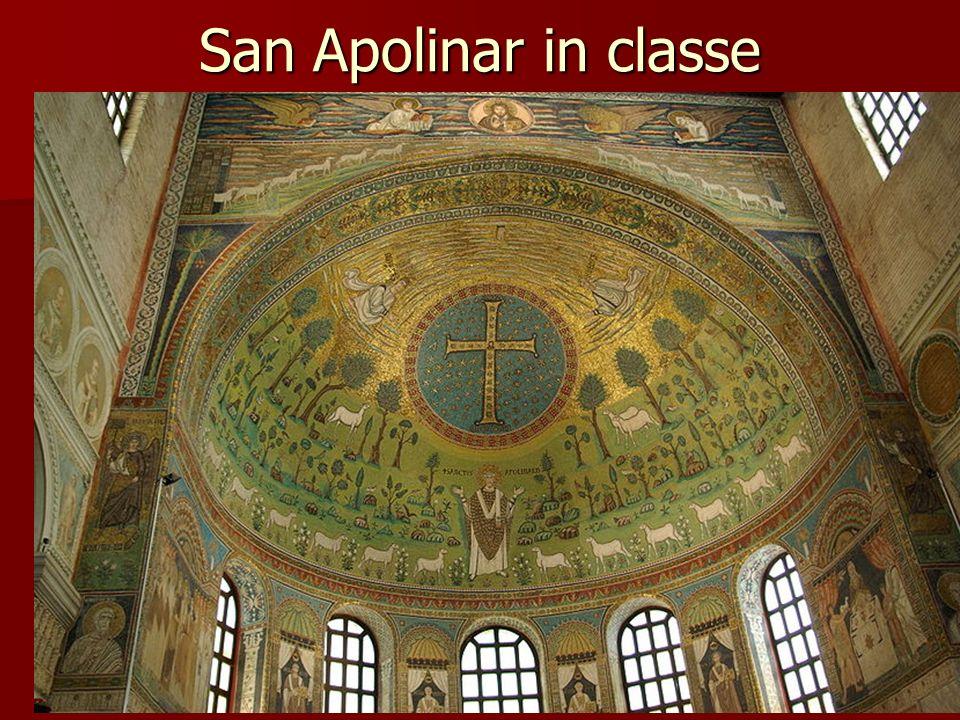 San Apolinar in classe Arte bizantino
