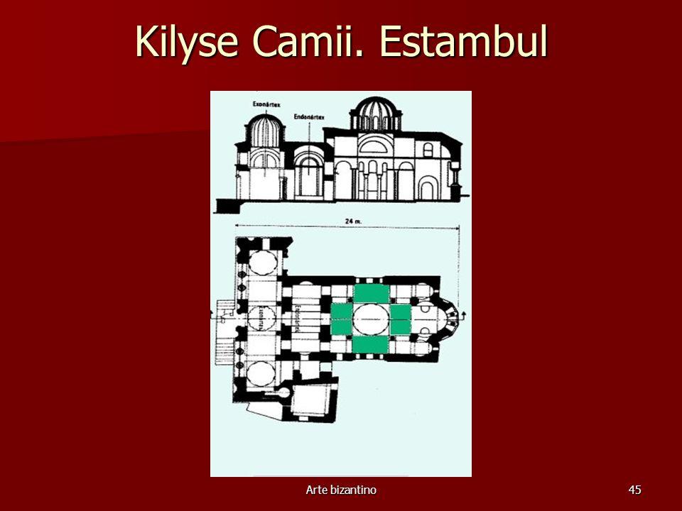 Kilyse Camii. Estambul Arte bizantino