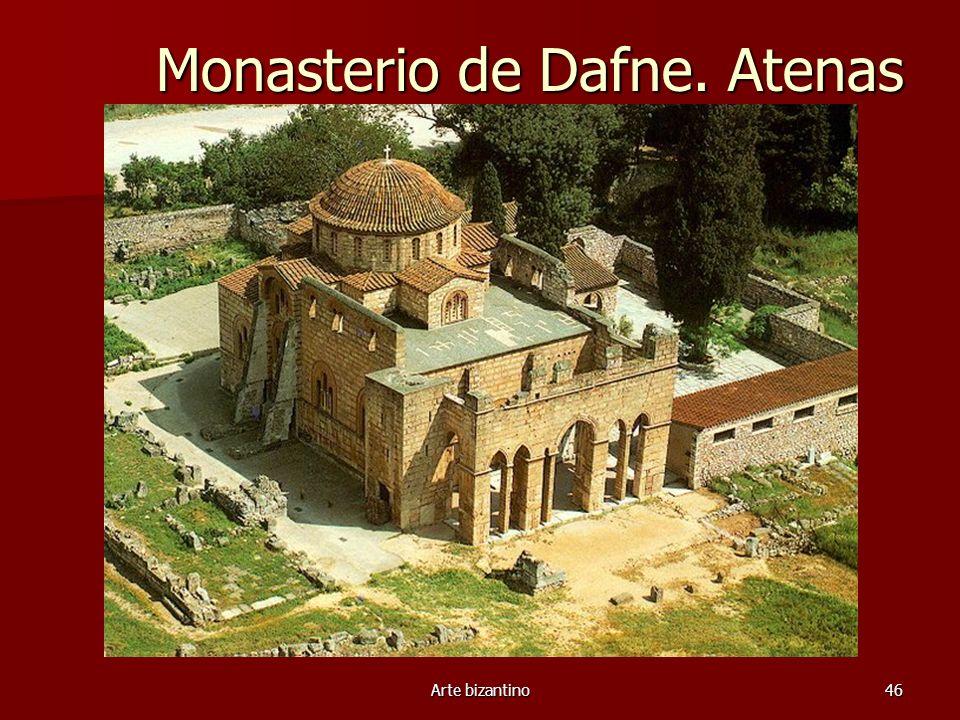 Monasterio de Dafne. Atenas