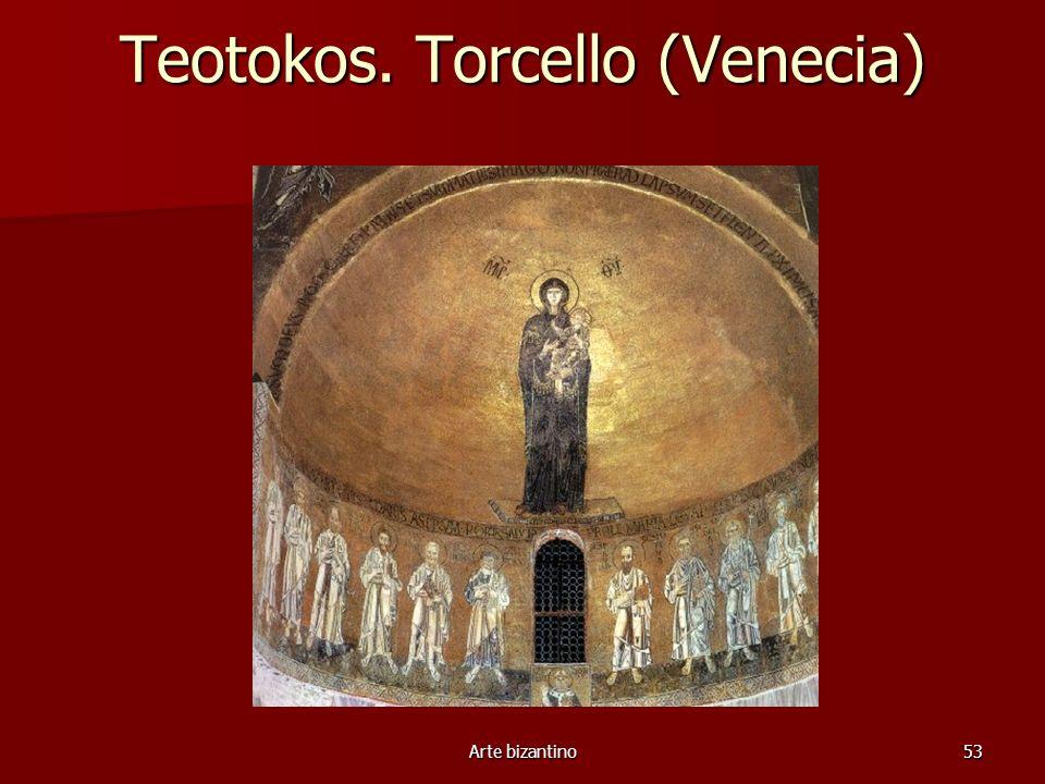 Teotokos. Torcello (Venecia)