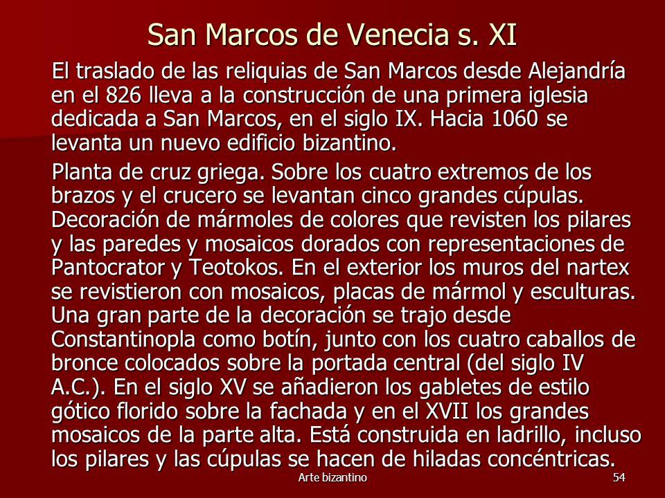 San Marcos de Venecia s. XI