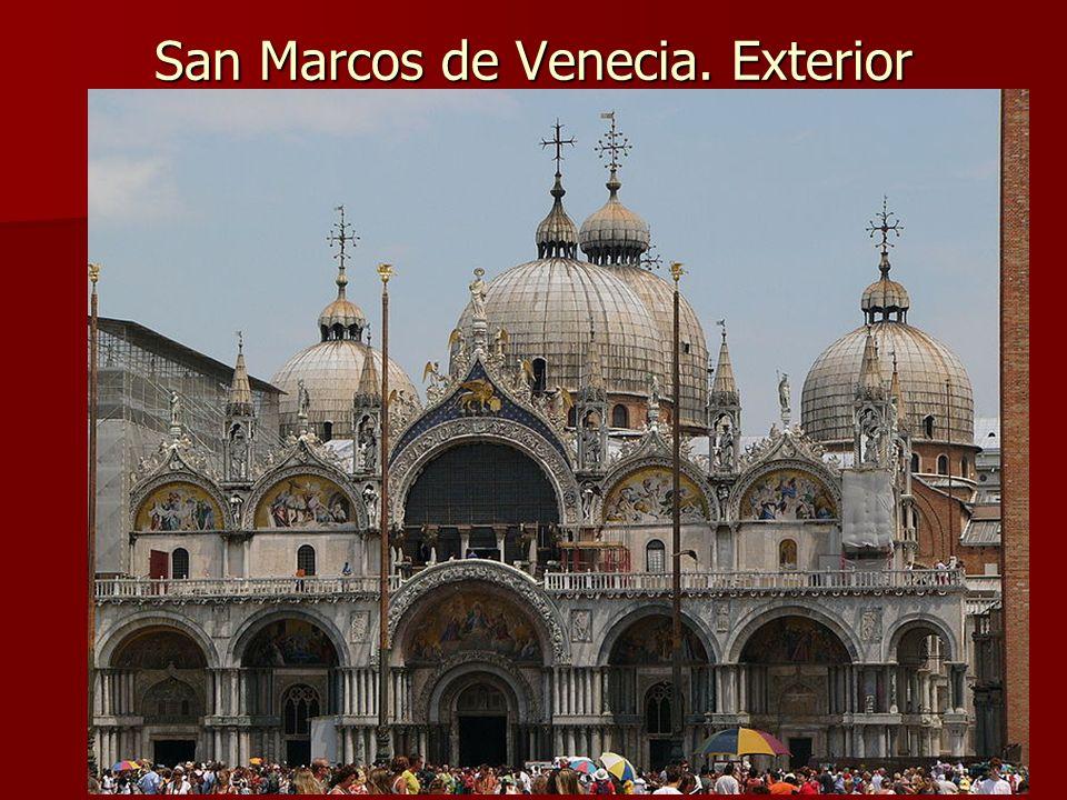 San Marcos de Venecia. Exterior