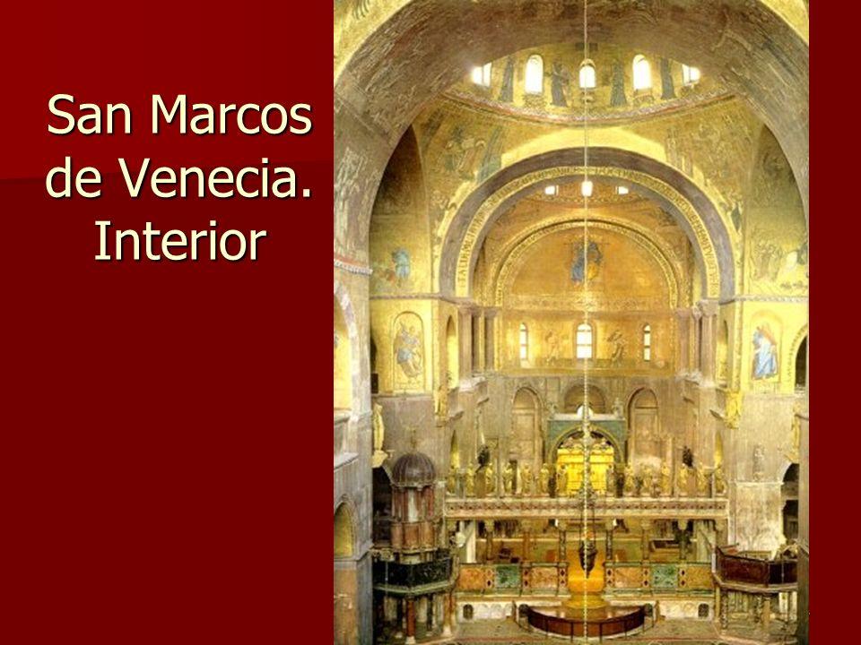 San Marcos de Venecia. Interior