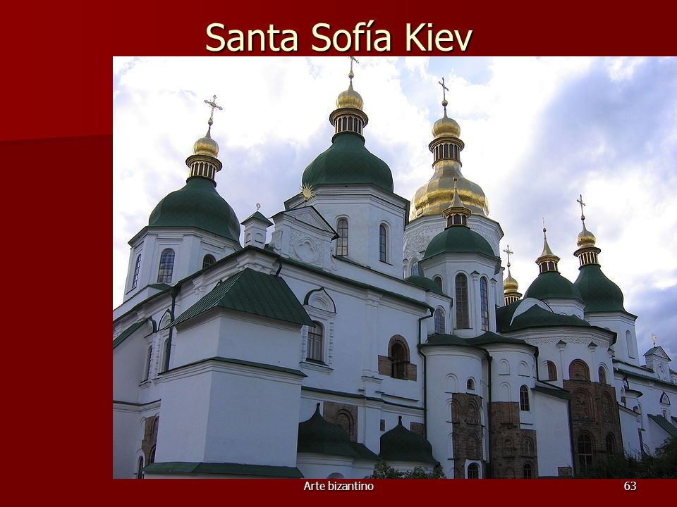 Santa Sofía Kiev Arte bizantino
