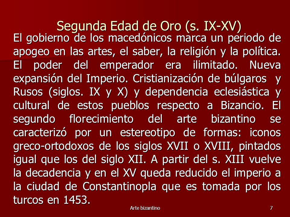 Segunda Edad de Oro (s. IX-XV)