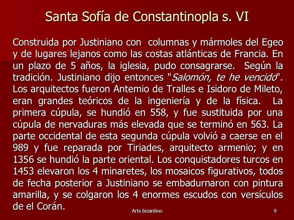 Santa Sofía de Constantinopla s. VI