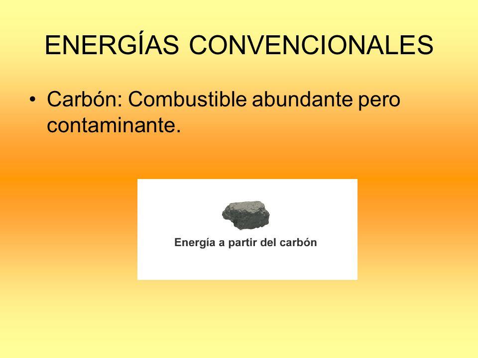 ENERGÍAS CONVENCIONALES