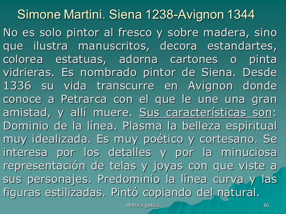 Simone Martini. Siena 1238-Avignon 1344