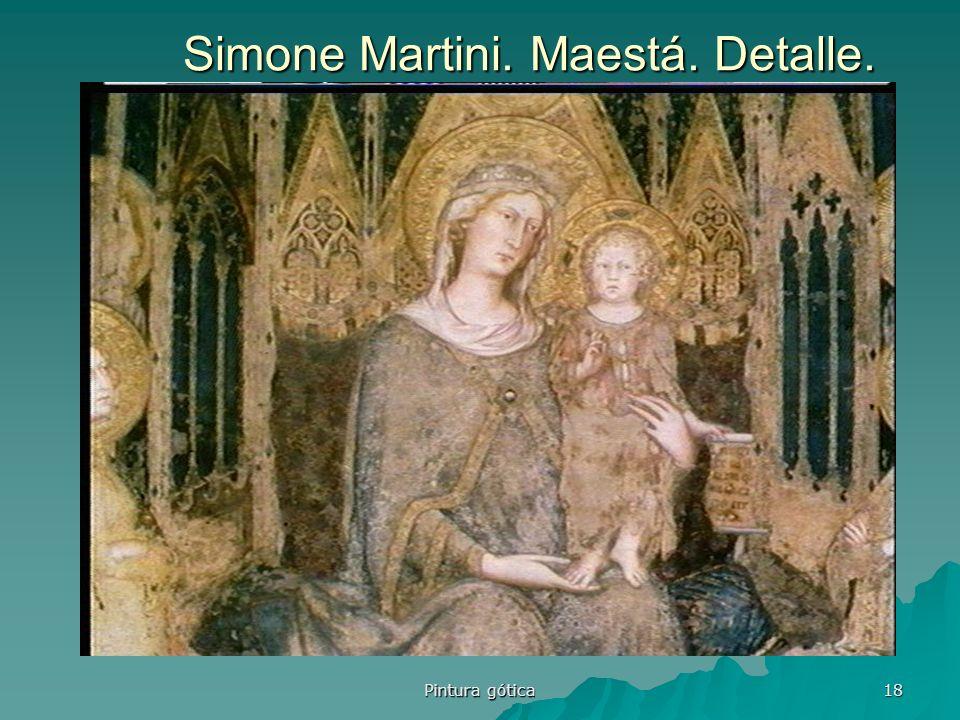 Simone Martini. Maestá. Detalle.