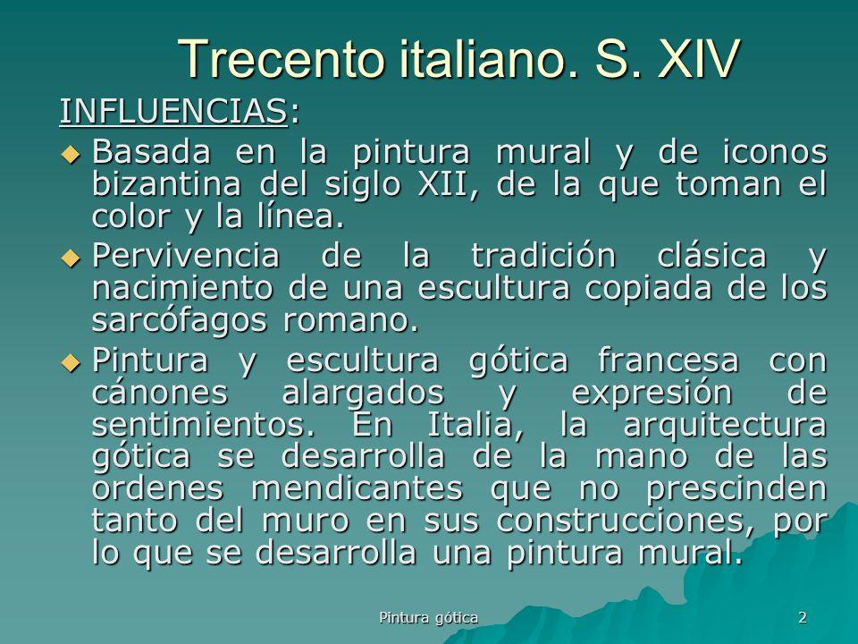 Trecento italiano. S. XIV