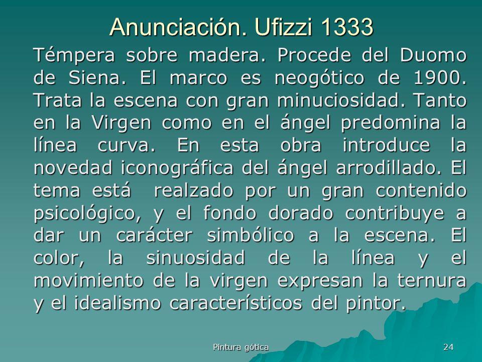 Anunciación. Ufizzi 1333