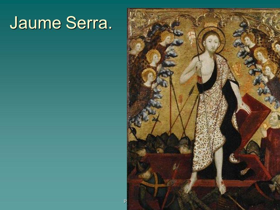 Jaume Serra. Pintura gótica