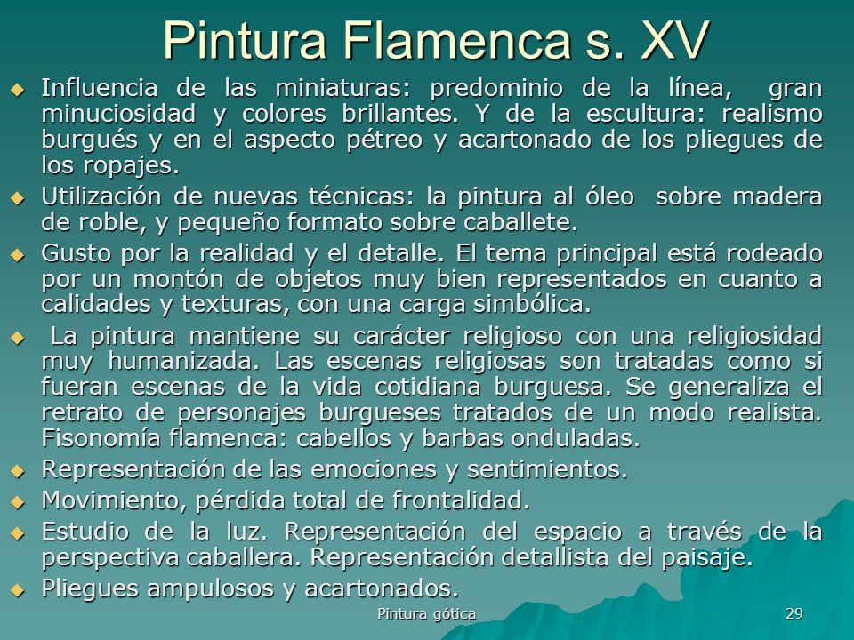 Pintura Flamenca s. XV