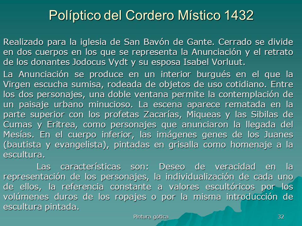 Políptico del Cordero Místico 1432