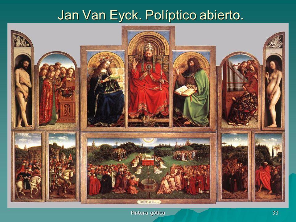 Jan Van Eyck. Políptico abierto.