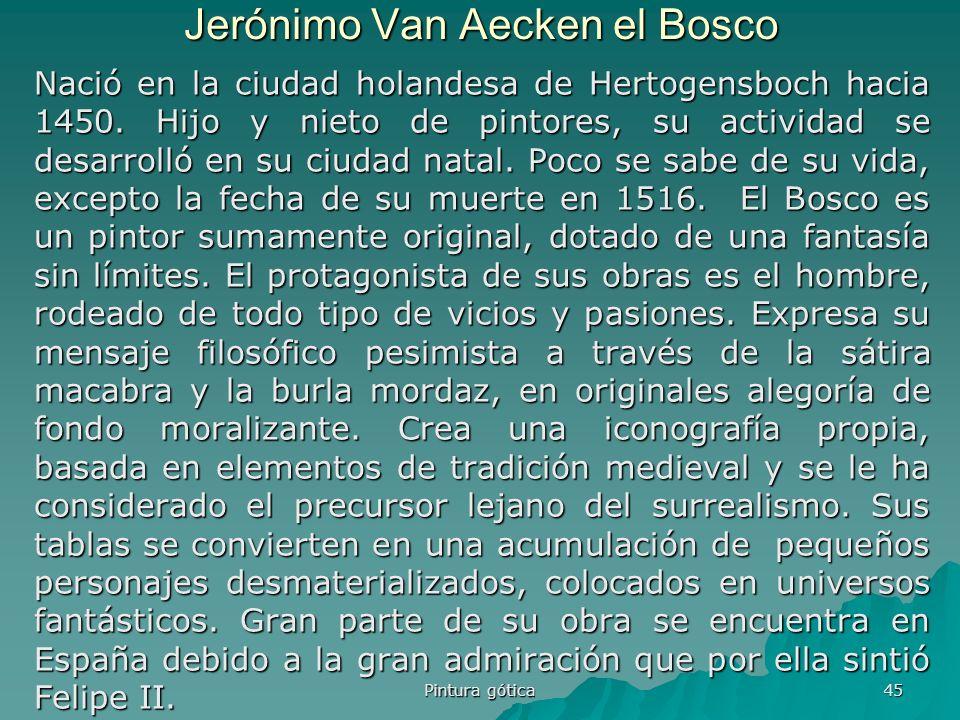 Jerónimo Van Aecken el Bosco