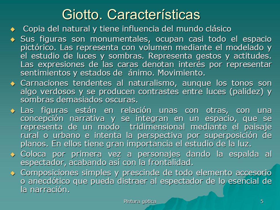 Giotto. Características