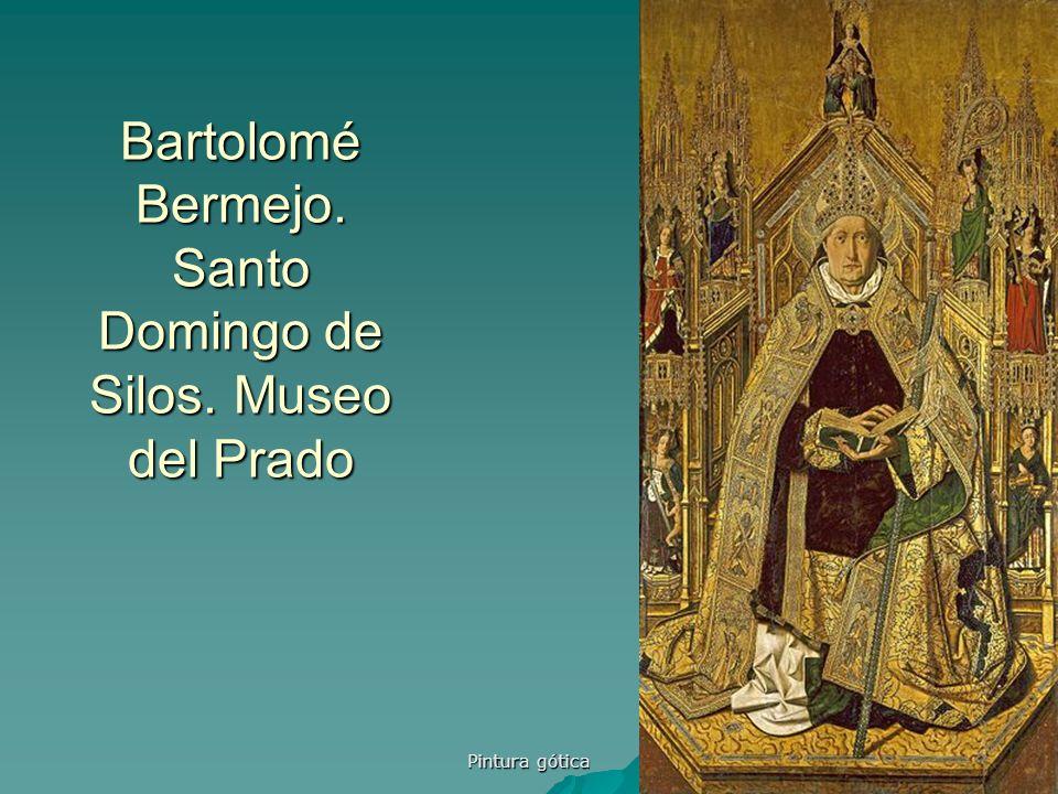 Bartolomé Bermejo. Santo Domingo de Silos. Museo del Prado