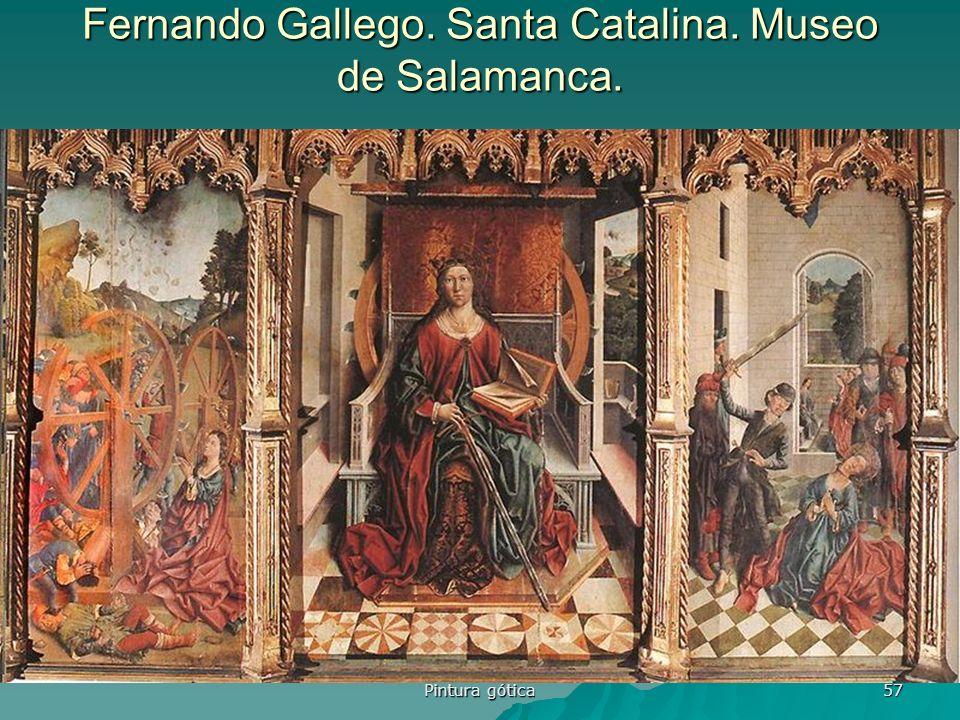Fernando Gallego. Santa Catalina. Museo de Salamanca.
