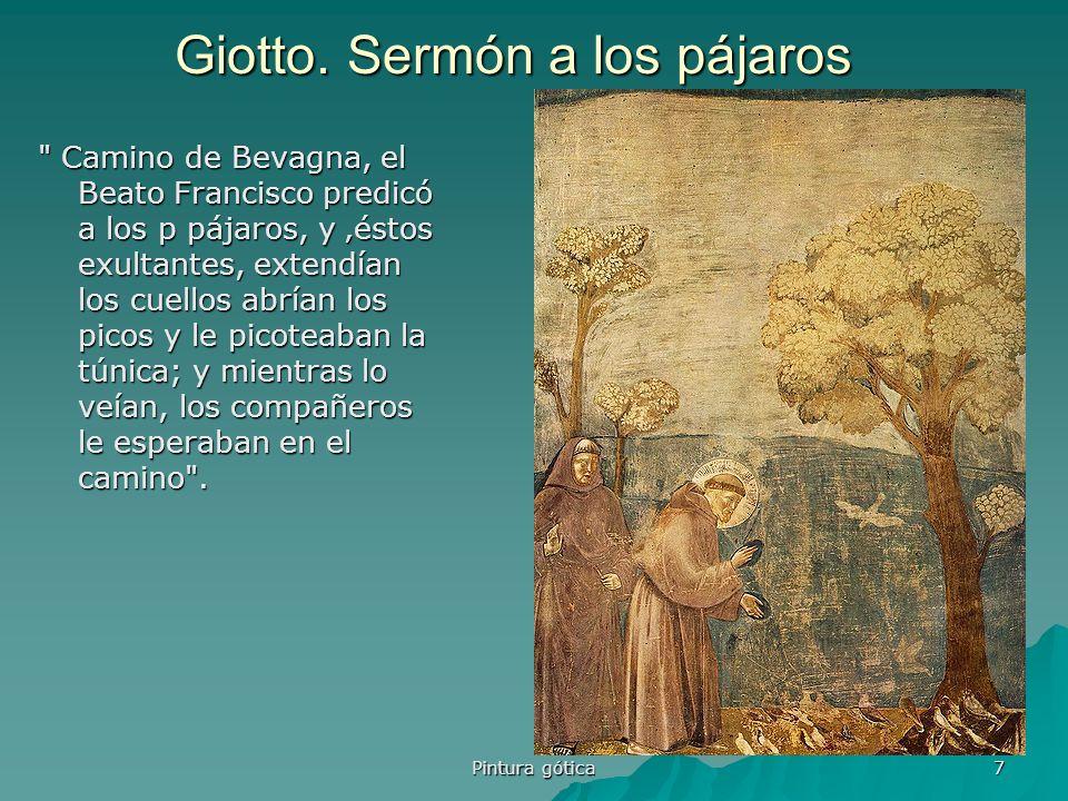 Giotto. Sermón a los pájaros