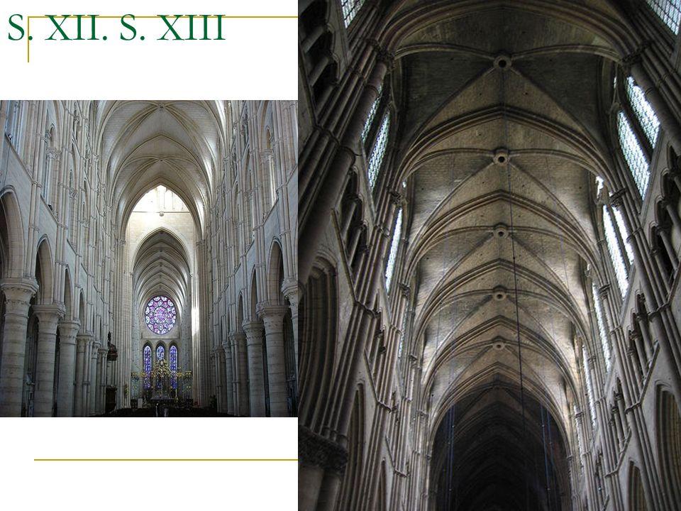 S. XII. S. XIII Gótico