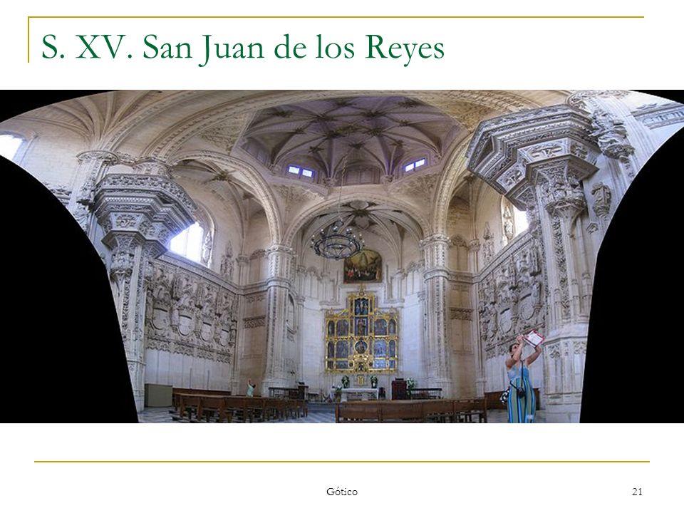 S. XV. San Juan de los Reyes