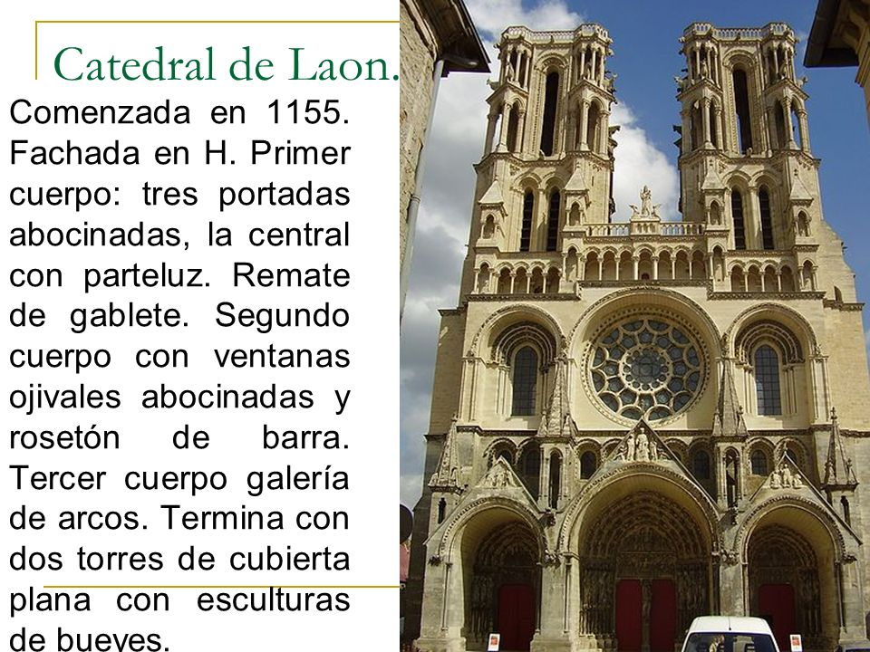 Catedral de Laon.