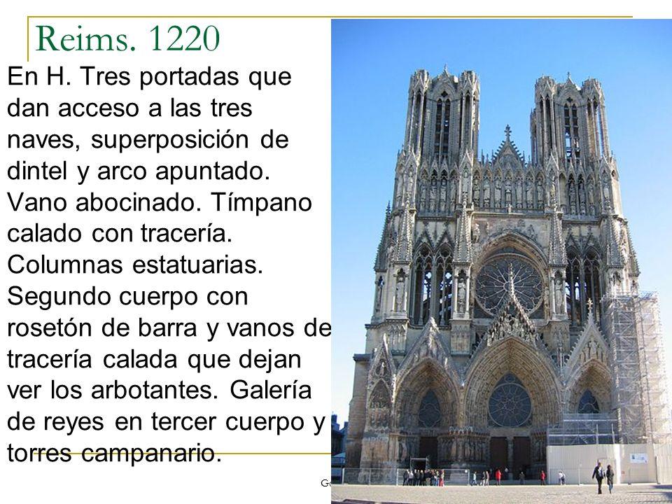 Reims. 1220