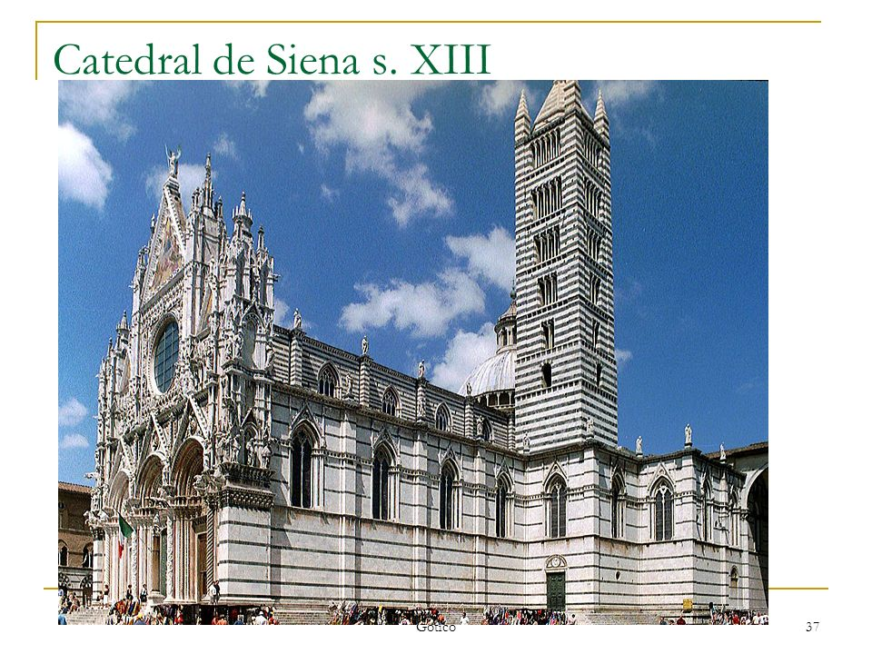 Catedral de Siena s. XIII