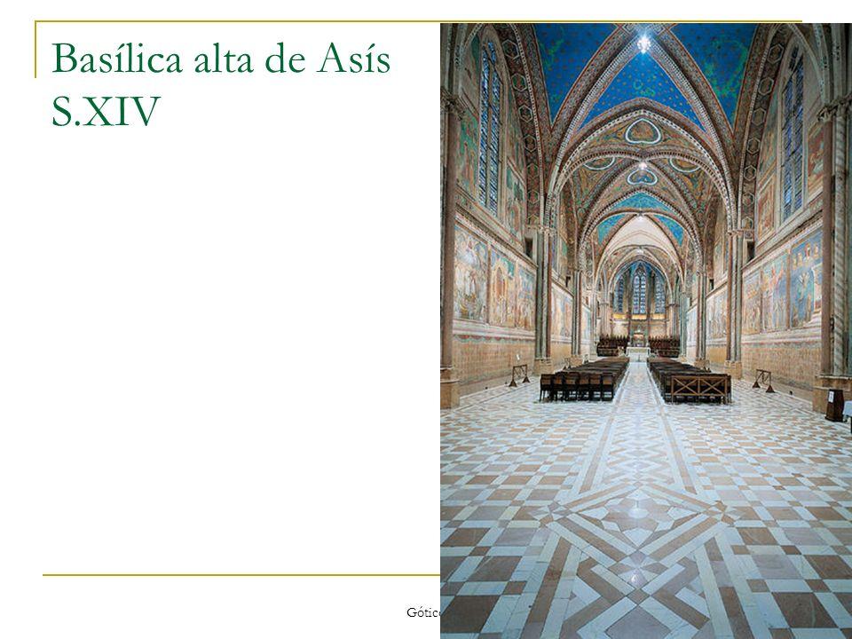 Basílica alta de Asís S.XIV