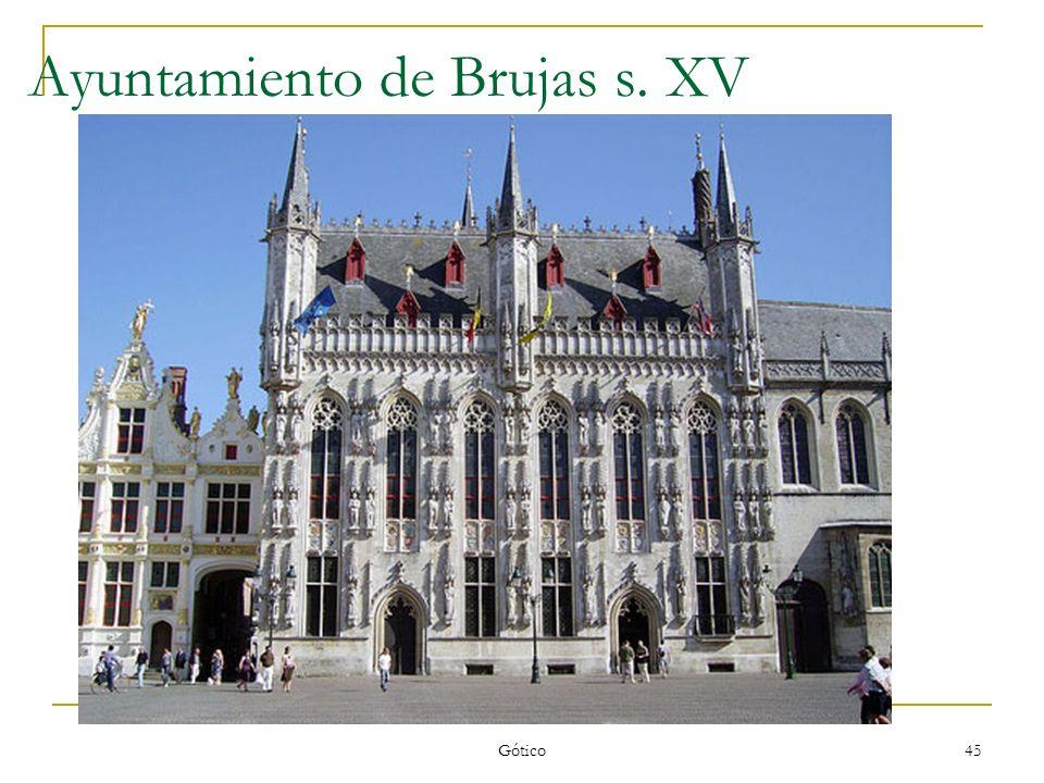 Ayuntamiento de Brujas s. XV