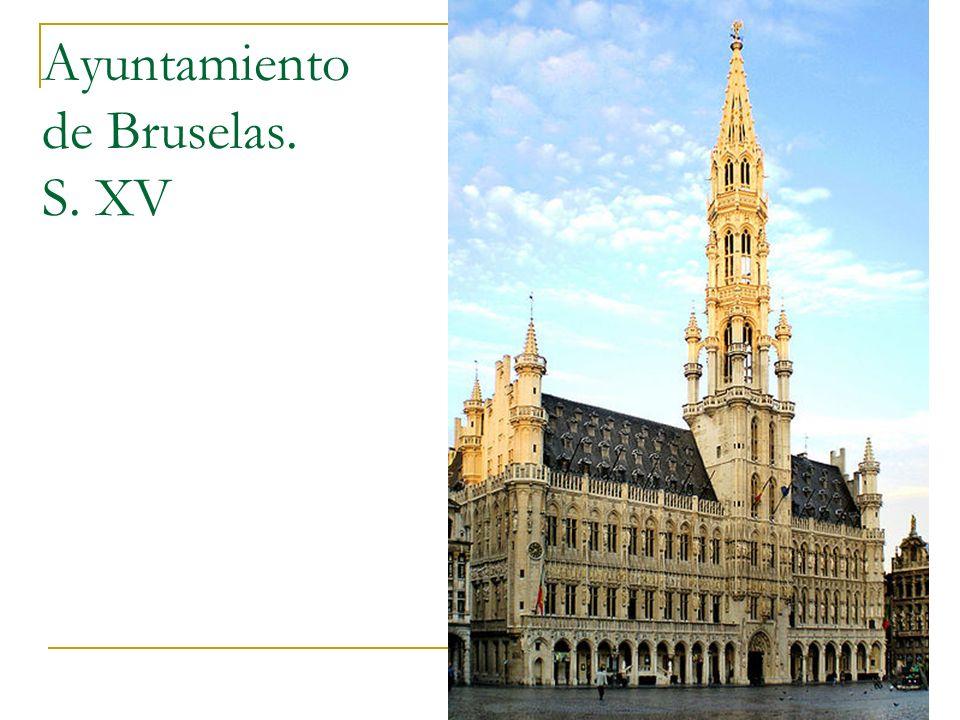 Ayuntamiento de Bruselas. S. XV