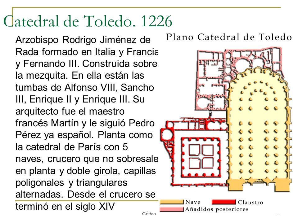 Catedral de Toledo. 1226