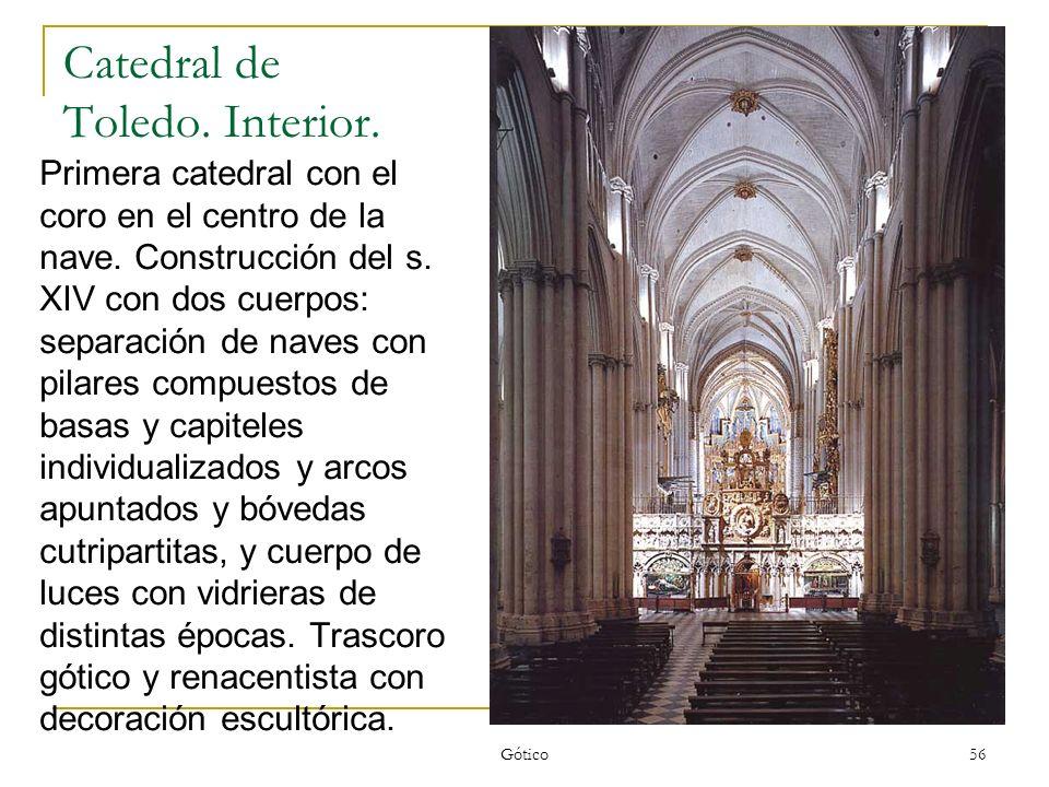 Catedral de Toledo. Interior.