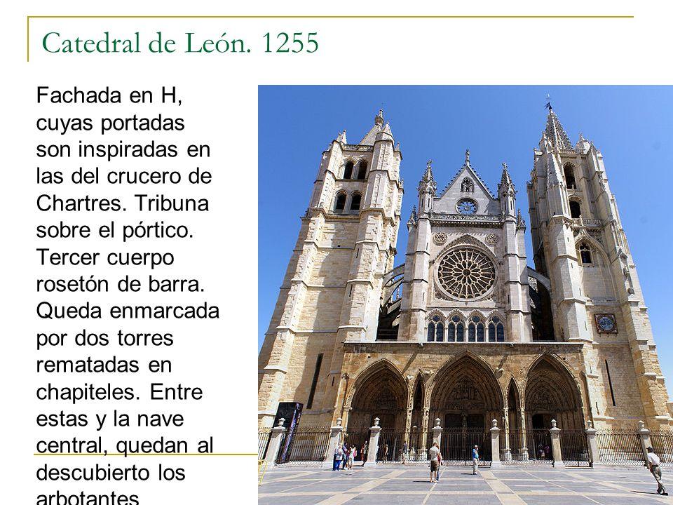 Catedral de León. 1255